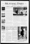 Mustang Daily, May 29, 2008