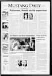Mustang Daily, May 30, 2008
