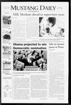 Mustang Daily, June 4, 2008