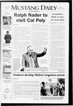 Mustang Daily, September 25, 2008