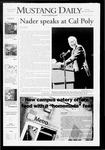 Mustang Daily, September 29, 2008