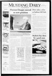 Mustang Daily, September 30, 2008