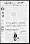 Mustang Daily, October 2, 2008