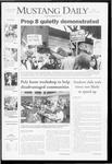 Mustang Daily, October 10, 2008