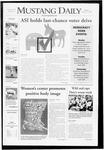 Mustang Daily, October 13, 2008