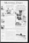 Mustang Daily, October 14, 2008