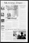 Mustang Daily, October 15, 2008