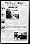 Mustang Daily, October 23, 2008