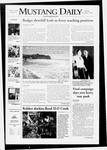 Mustang Daily, November 3, 2008