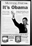 Mustang Daily, November 5, 2008