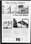 Mustang Daily, November 7, 2008