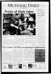 Mustang Daily, November 10, 2008
