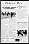 Mustang Daily, November 21, 2008