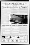 Mustang Daily, November 25, 2008