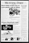 Mustang Daily, December 2, 2008