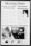 Mustang Daily, December 3, 2008