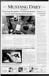 Mustang Daily, December 4, 2008