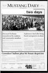 Mustang Daily, December 5, 2008