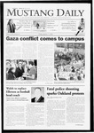 Mustang Daily, January 9, 2009