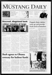 Mustang Daily, January 13, 2009