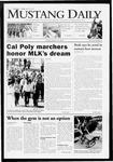 Mustang Daily, January 16, 2009