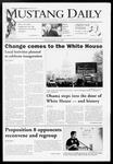 Mustang Daily, January 20, 2009