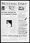 Mustang Daily, January 22, 2009