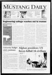 Mustang Daily, January 26, 2009