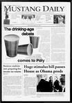 Mustang Daily, January 29, 2009