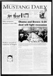 Mustang Daily, April 2, 2009