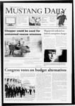 Mustang Daily, April 3, 2009