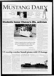 Mustang Daily, April 10, 2009
