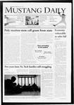 Mustang Daily, April 15, 2009