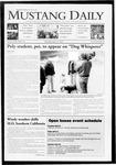 Mustang Daily, April 16, 2009