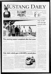 Mustang Daily, April 21, 2009