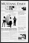 Mustang Daily, April 23, 2009