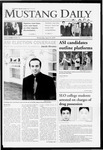 Mustang Daily, April 29, 2009