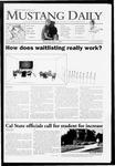 Mustang Daily, May 6, 2009