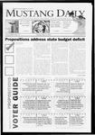 Mustang Daily, May 18, 2009