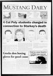 Mustang Daily, May 22, 2009