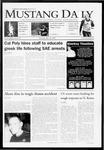 Mustang Daily, May 28, 2009