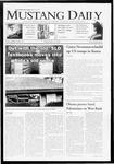 Mustang Daily, May 29, 2009