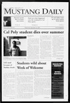 Mustang Daily, September 23, 2009