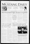 Mustang Daily, September 28, 2009