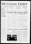 Mustang Daily, October 6, 2009