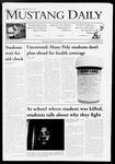 Mustang Daily, October 8, 2009