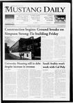 Mustang Daily, October 12, 2009