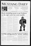 Mustang Daily, October 13, 2009
