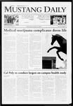 Mustang Daily, October 14, 2009