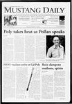 Mustang Daily, October 15, 2009